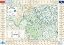 Harta județului Mehedinți cu primării