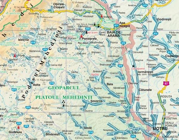 Harta Judetului Cu Primarii Mehedinti Stiefel Romania