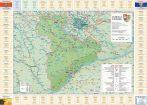 Harta județului Giurgiu cu primării