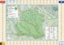 Harta Judetului cu primarii Teleorman