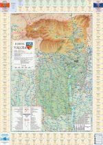 Harta județului Vâlcea cu primării