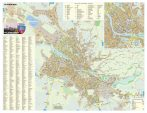 Harta Municipiului Oradea BH - șipci de plastic