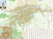 Harta Municipiului Cluj-Napoca CJ - șipci de plastic