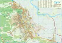 Harta Municipiului Deva HD - sipci de plastic