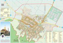 Harta Municipiului Codlea BV - sipci de plastic