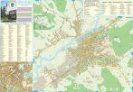 Harta Municipiului Târgu Mureș MS - șipci de plastic