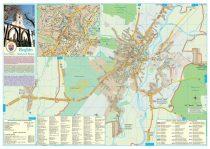 Harta Municipiului Reghin MS - sipci de plastic