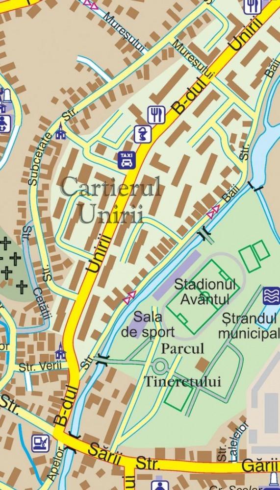 Harta Municipiului Reghin Ms Sipci De Plastic Stiefel Romania