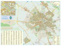 Harta Municipiului Ploiesti PH - sipci de plastic