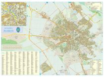 Harta Municipiului Ploiești PH - șipci de plastic