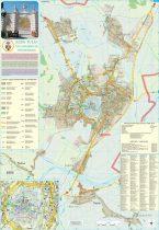Harta Municipiului Alba Iulia AB - șipci de plastic