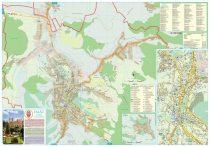 Harta Municipiului Zalău SJ - șipci de plastic