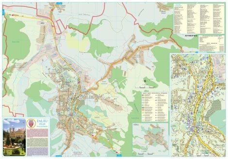 Harta Municipiului Zalau SJ - sipci de plastic