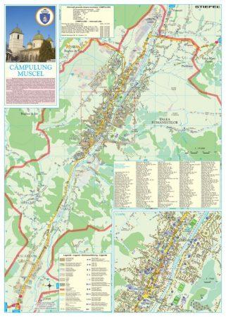 Harta Municipiului Campulung Muscel AG - sipci de plastic