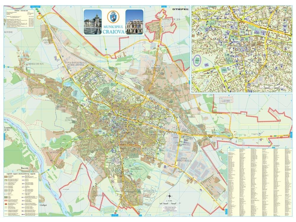 Harta Municipiului Craiova Dj Sipci De Plastic Stiefel Romania