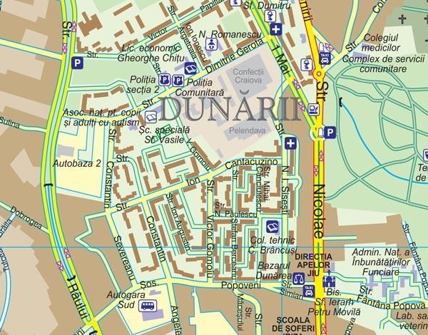 Harta Drumurilor Inzăpezibile Drdp Craiova Oltenasul