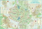 Harta Conurbatiei Corvina HD 100x70 cm sipci plastic
