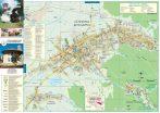 Harta Orașului Covasna CV - șipci de lemn
