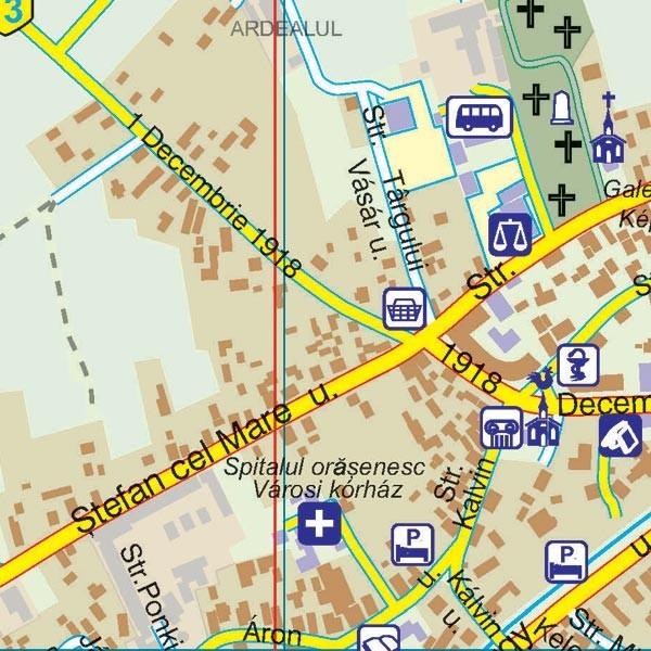 Harta Orasului Covasna Cv Sipci De Lemn Stiefel Romania