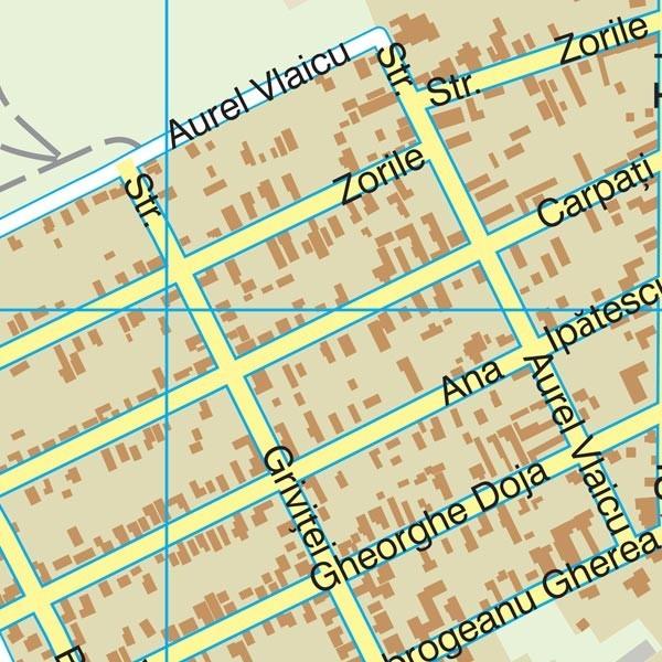 Harta Orasului Mizil Ph Sipci De Lemn Stiefel Romania