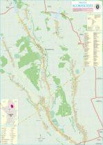 Harta Orasului Scornicesti OT - sipci de lemn