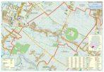 Harta Orașului Magurele IF - șipci de lemn
