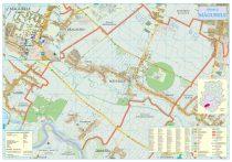 Harta Orasului Magurele IF - sipci de lemn
