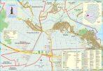 Harta Comunei Chiajna IF - șipci de lemn