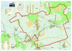 Harta Comunei Balotești IF - sipci de lemn