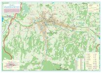 Harta Orasului Salistea de Sus MM - sipci de lemn