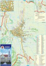 Harta Municipiului Caransebeș CS- șipci de lemn