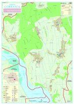 Harta Comunei Corbasca BC - șipci de lemn