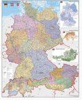 Harta Germania, Austria și Elveția cu coduri poștale