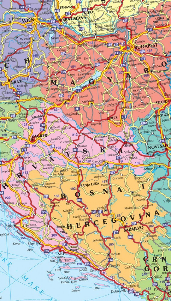 Harta Rutiera Europa Harta Frantei Ghid Rutier 2020 01 23