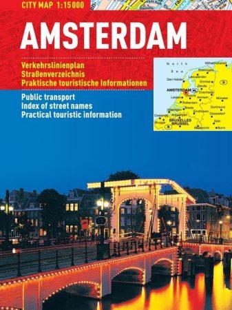 Amsterdam- harta turistica pliabila