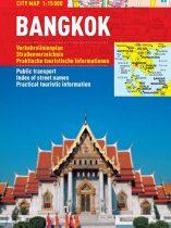 Bangkok - hartă turistică pliabilă