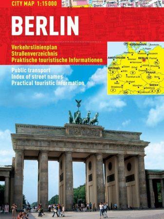 Berlin - hartă turistică pliabilă