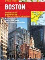 Boston - harta turistica pliabila