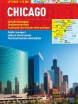 Chicago - harta turistica pliabila
