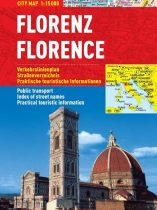 Florenta - harta turistica pliabila