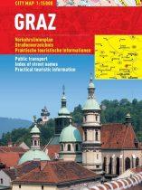 Graz - hartă turistică pliabilă