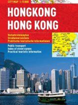 Hong kong - hartă turistică pliabilă