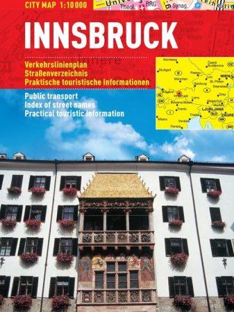 Innsbruck - hartă turistică pliabilă