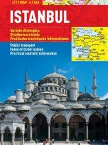 Istanbul -hartă turistică pliabilă