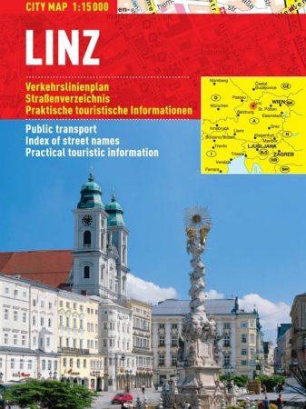 Linz - harta turistica pliabila