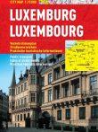 Luxemburg -hartă turistică pliabilă