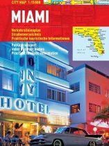 Miami - harta turistica pliabila