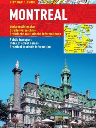 Montreal- harta turistica pliabila
