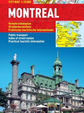 Montreal- hartă turistică pliabilă