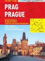 Praga -hartă turistică pliabilă